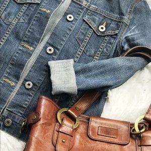 Theory Jackets & Coats - Theory denim jacket size XS